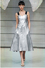 Fashion-Shows-Silver-Dress