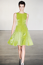 Green-Dress-For-Fashion-Shows