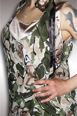 Made-to-Measure-Camouflage-Dress